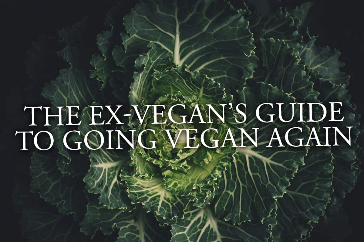The Ex-Vegan's Guide To Going Vegan Again
