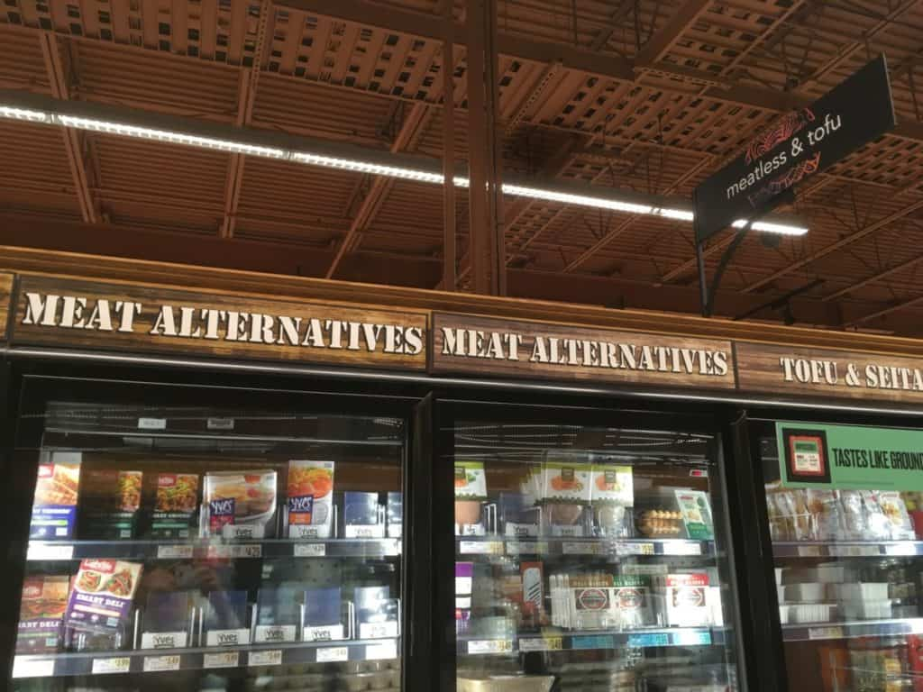 Where to find seitan in grocery store