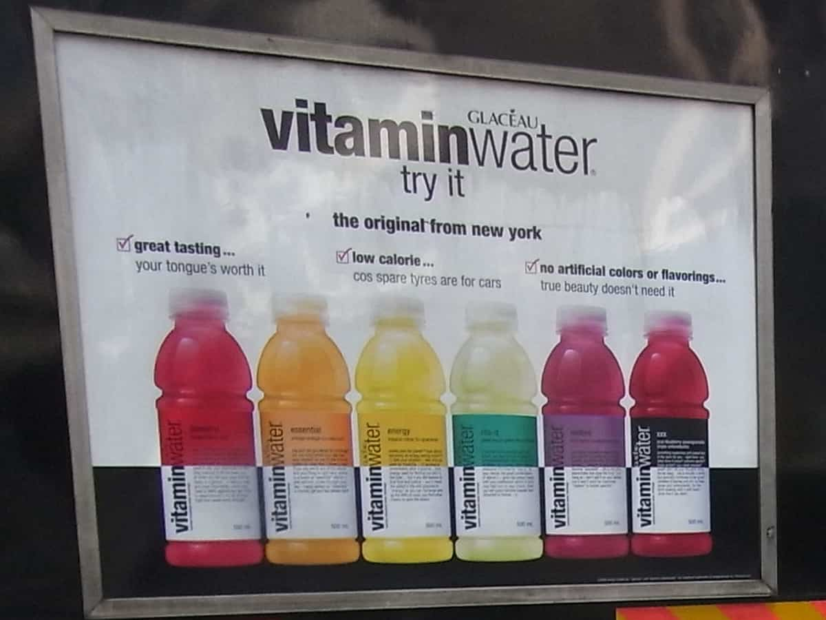Is vitamin water vegan?
